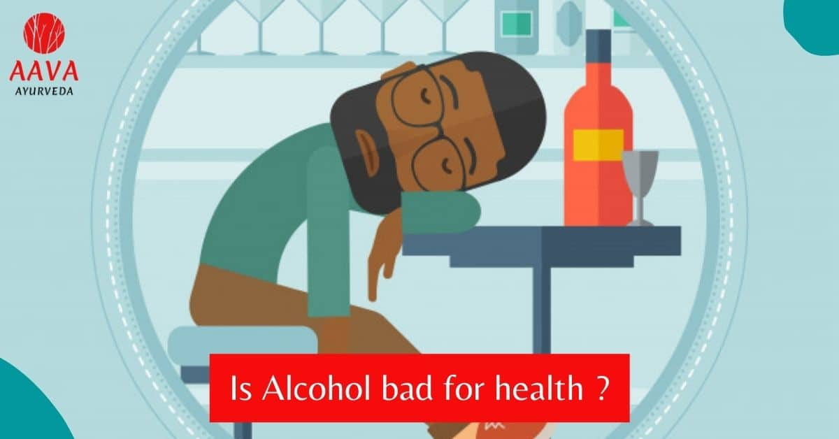 Is Alcohol bad for health?